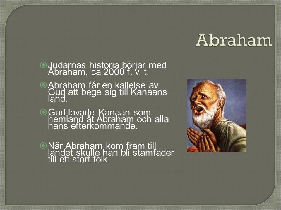  Gud ingår ett förbund med Abraham.