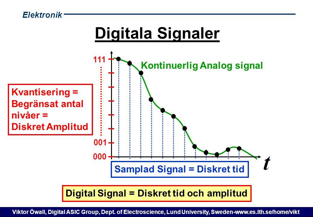 Elektronik Viktor Öwall, Digital ASIC Group, Dept.