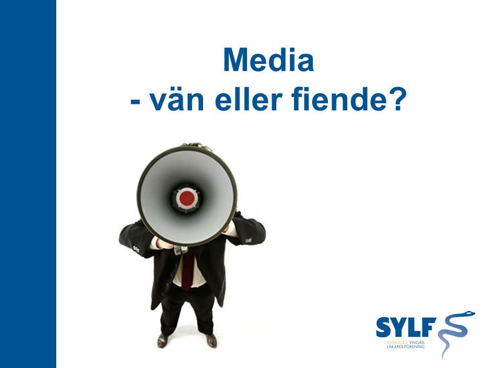Media - vän eller fiende