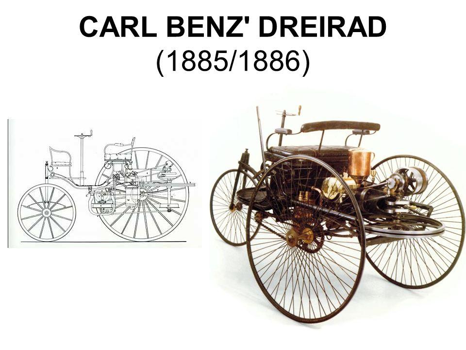CARL BENZ' DREIRAD (1885/1886)