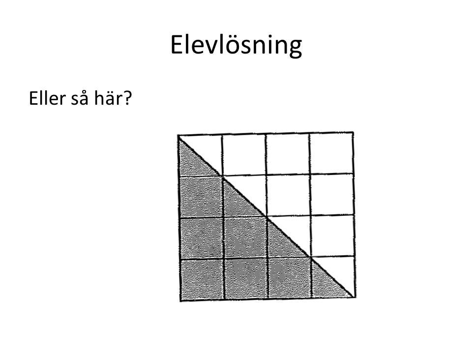 Elevlösning Eller så här?