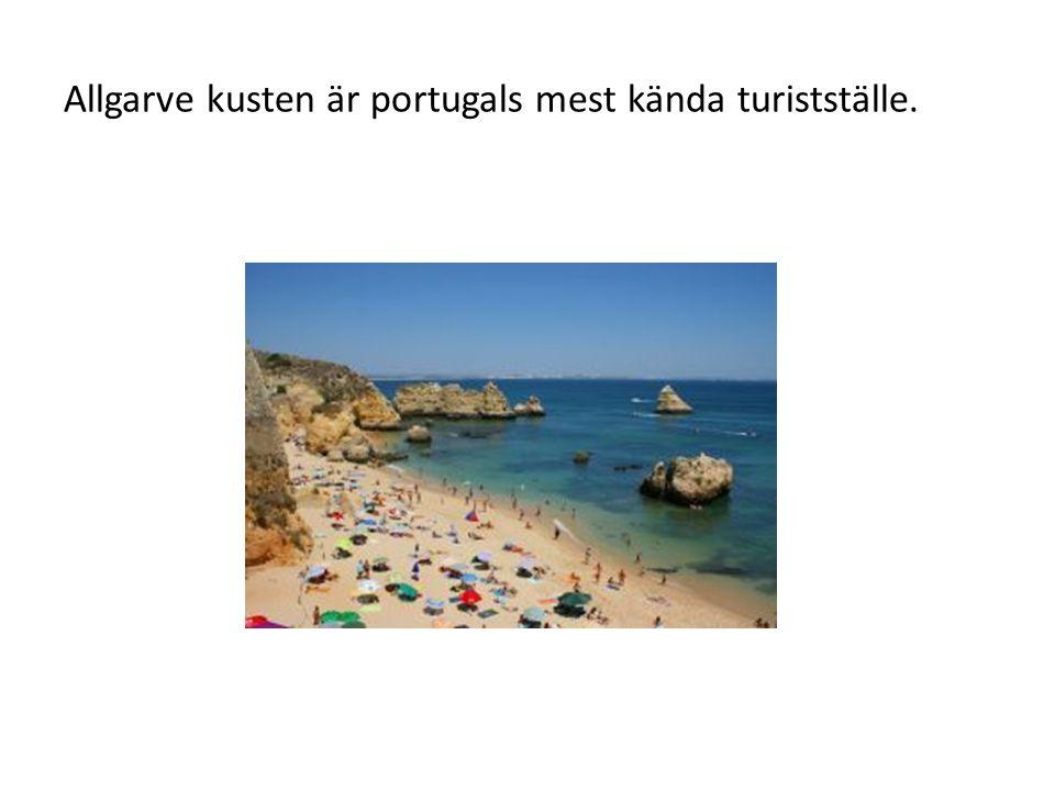 Portugal ligger i sydvästra Europa och gränsar till Spanien.
