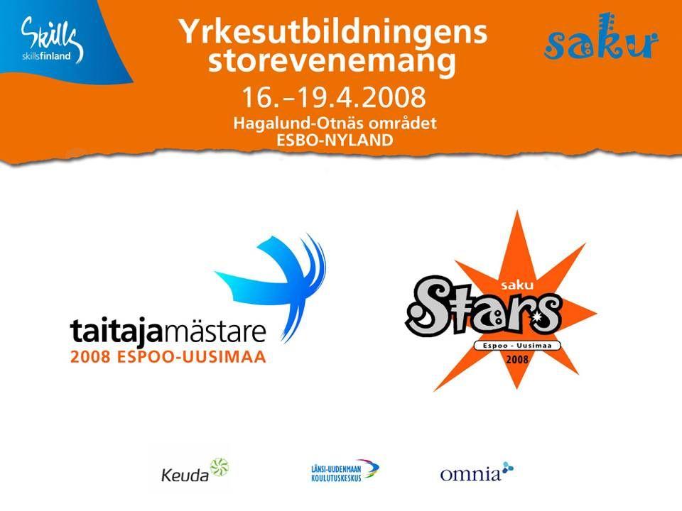 Storevenemang, Mästare, SAKUstars samarbetspartners 2008