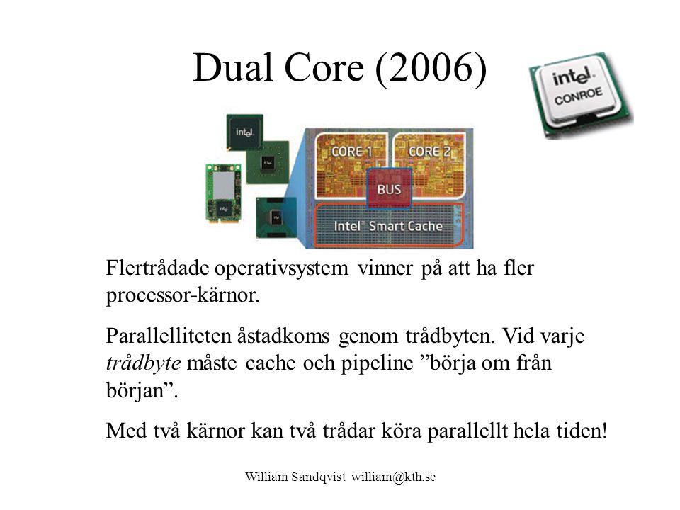 William Sandqvist william@kth.se Vem behöver 128 bitars register.