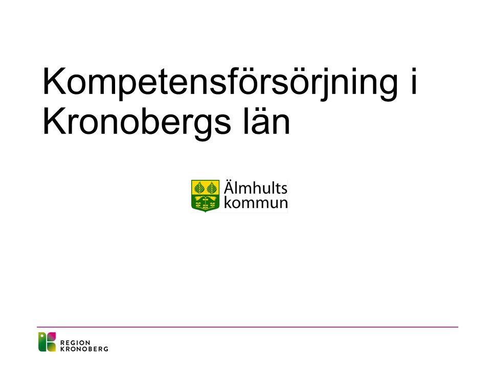 Kompetensförsörjning i Kronobergs län