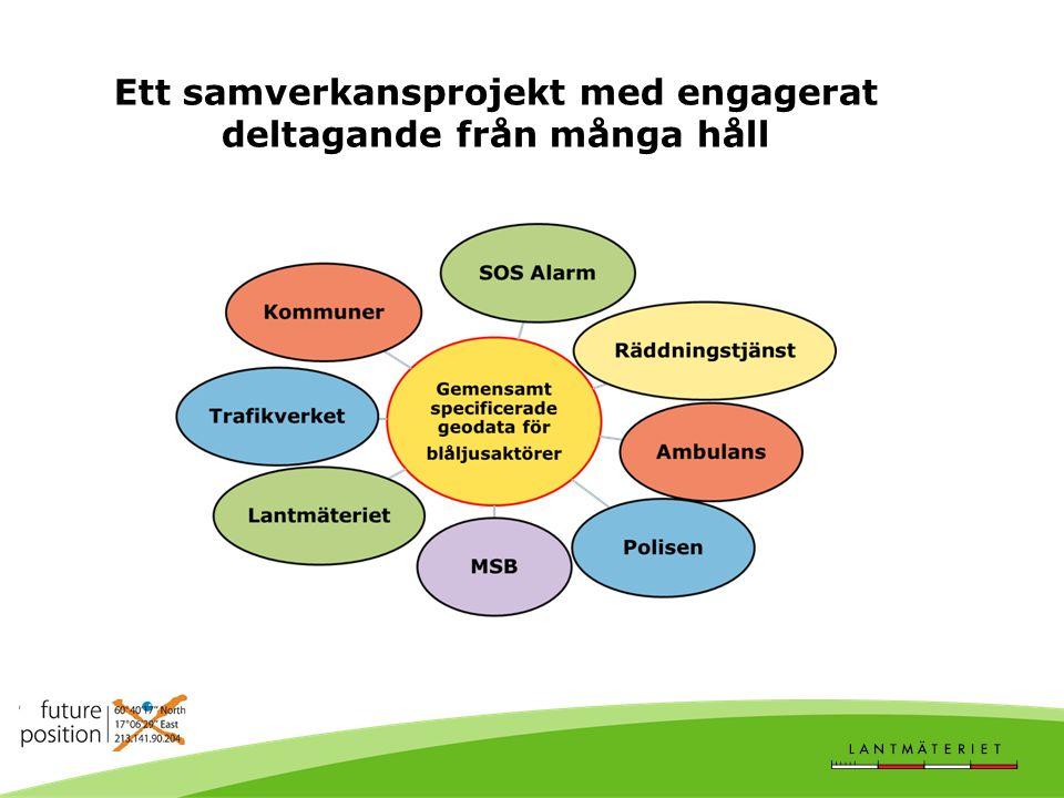 Ett samverkansprojekt med engagerat deltagande från många håll
