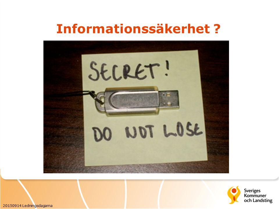 Långsiktig informationshantering 20150914 Ledningsdagarna E-arkiv