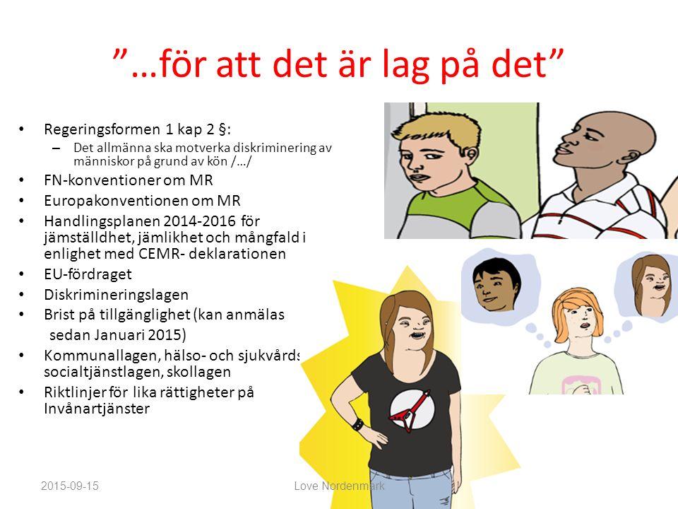varför behövs de? Love Nordenmark love.nordenmark@sll.se Vad är en norm?