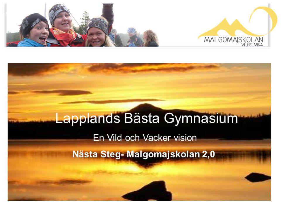 Page 1 Lapplands Bästa Gymnasium En Vild och Vacker vision Nästa Steg- Malgomajskolan 2,0