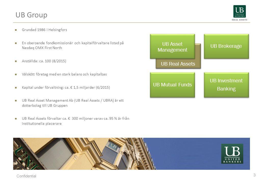 UB EM Infra Fund (Emerging Markets Infrastructure) 34 Confidential