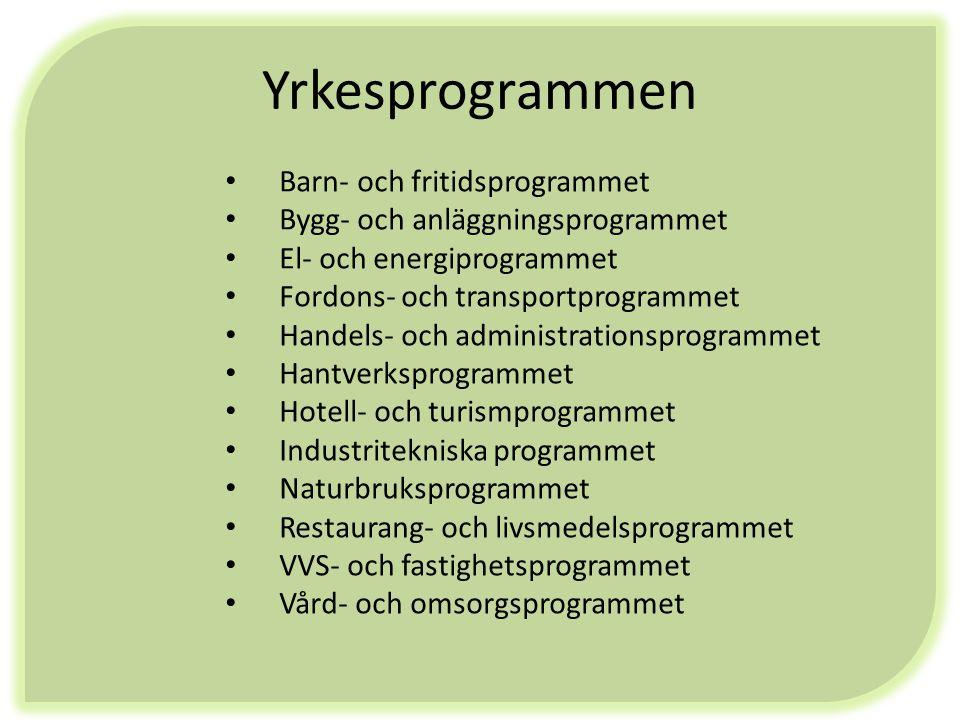 1;a handssökande till Kunskapsförbundet (MÅG, Nisse, Birger Sjöberg) Naturbruksgymnasierna (VG region) Fristående gymnasieskolor Alla utbildningar som inte finns på orten/ i samverkansområdet Riksrekryterande utbildningar Spetsutbildningar IB