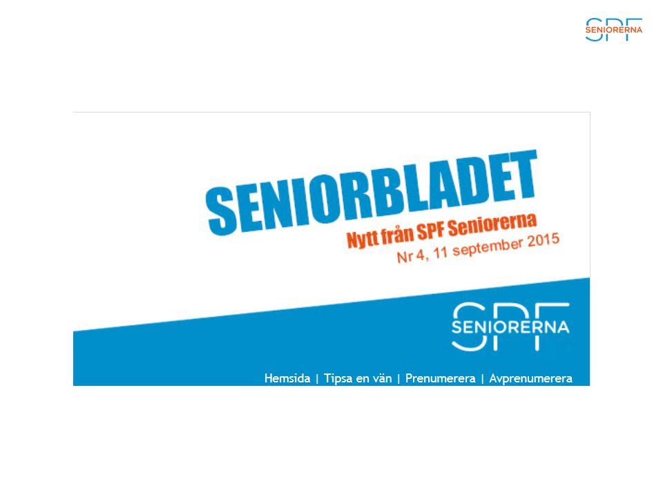 SPF Seniorernas rapport om bostadstillägget Bostadstillägget till pensionärer har halkat efter hyresutvecklingen i landet, det visar en rapport som SPF Seniorerna har tagit fram.