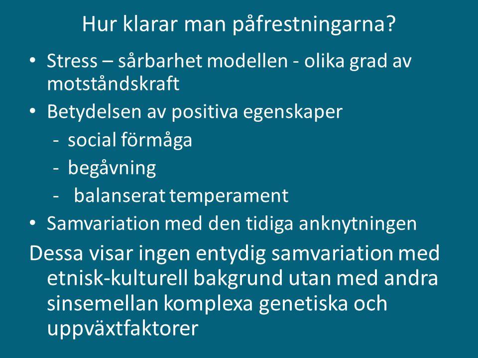 Vid kontakt med BUP Samordnade vårdplaner T.ex. medicinering, sömnhygien, vem vända sig etc.