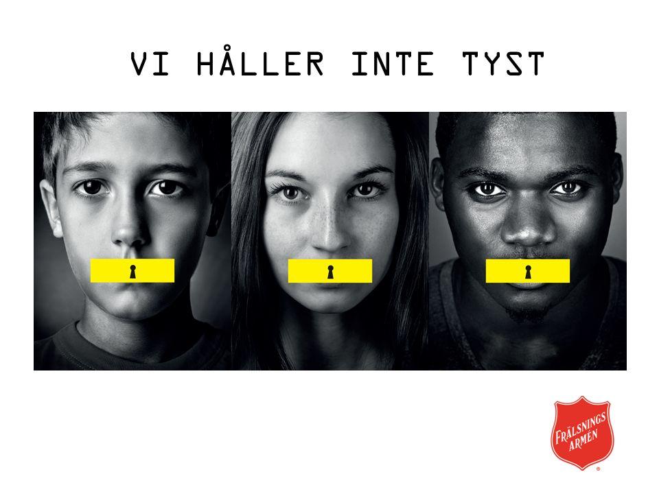 VI HÅLLER INTE TYST