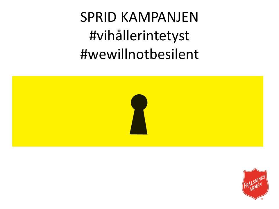 Sprid din egna bild #vihållerintetyst #wewillnotbesilent