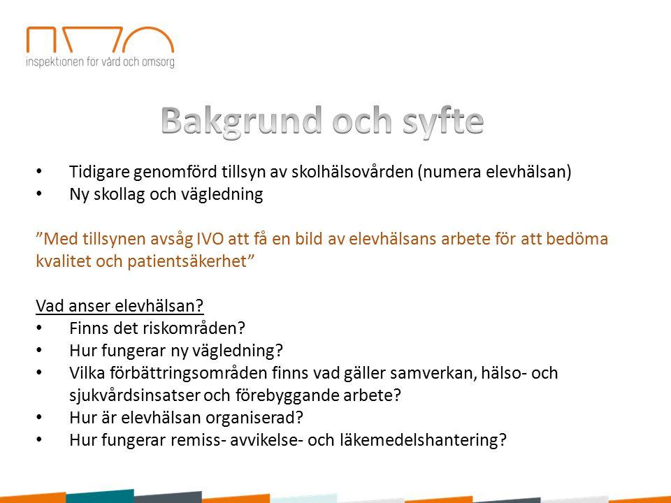 Tillsyn 2014 Ny vägledning Organisation (inkl.