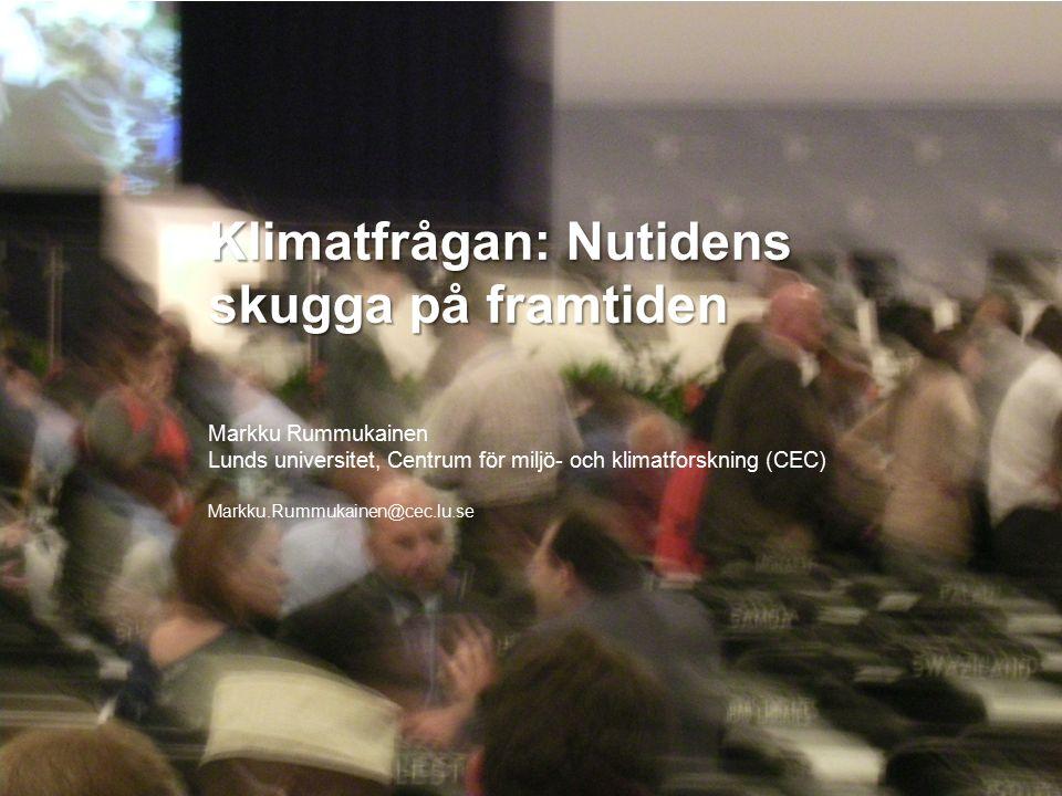 MERGE for GAC 19-20 May 2010 Sverige i en tvågradersvärld 12 10 8 6 4 ºC 2 0 -2 -4 -6 -8 1960 1980 2000 2020 2040 2060 2080 2100 smhi.se