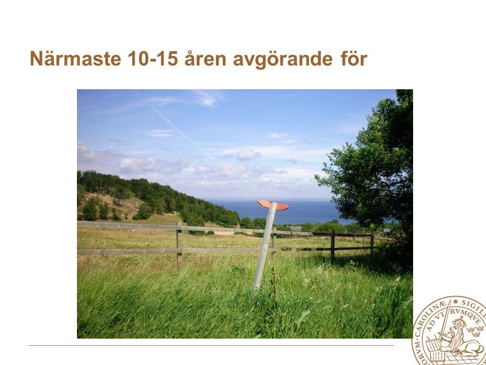 MERGE for GAC 19-20 May 2010 Närmaste 10-15 åren avgörande för