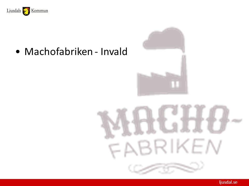 ljusdal.se Machofabriken - Invald
