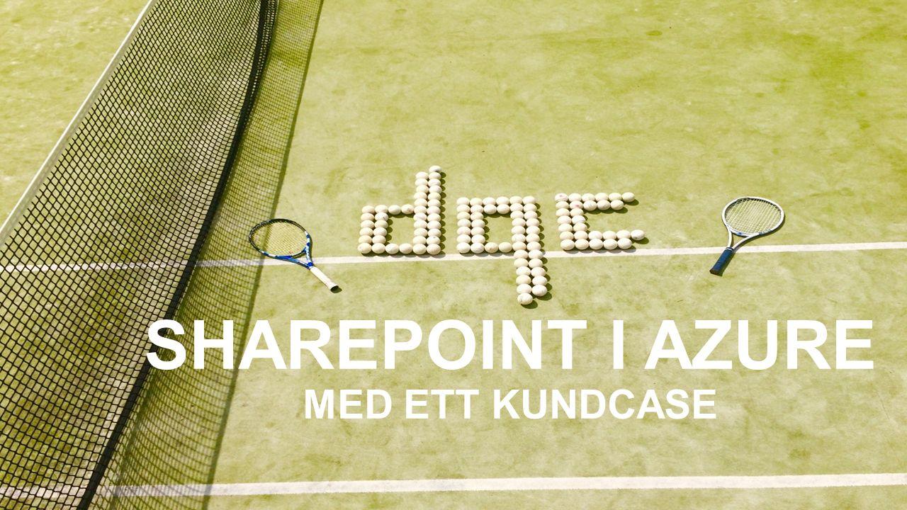 OM MIG Georgios Sidiropoulos (kallas Jorgo) Född och uppvuxen i Stockholm Jobbat med SharePoint sedan 2009 Varit med sedan starten på DQC (2007) Sportintresserad