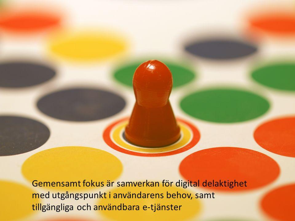 Utbildning Vård & omsorg Vardagsnära sysslor Arbetsliv Demokrati & integration Digital delaktighet i vardagens alla delar