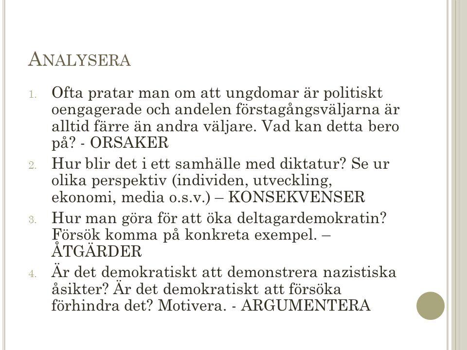 A NALYSERA 1.
