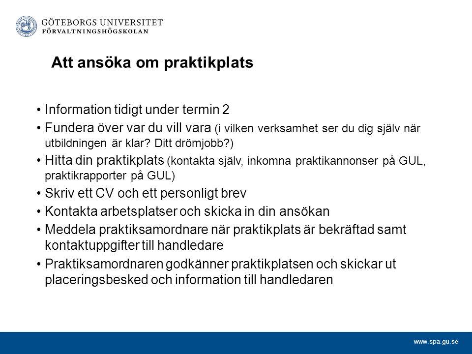 www.spa.gu.se OMBUD Likabehandlingsrepresentant Lars Karlsson Miljö- och hållbarhetsombud Kerstin Bartholdsson Arbetsmiljöombud David Karlsson