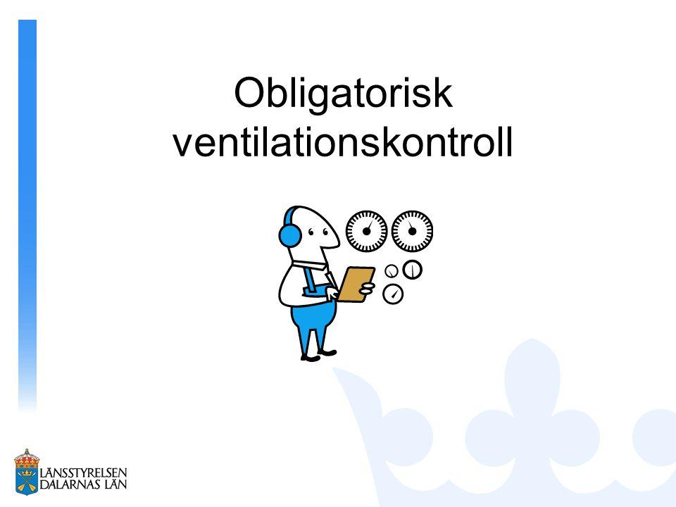 Obligatorisk ventilationskontroll
