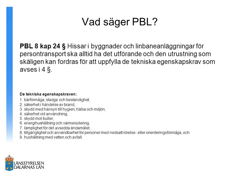 Vad säger PBL.