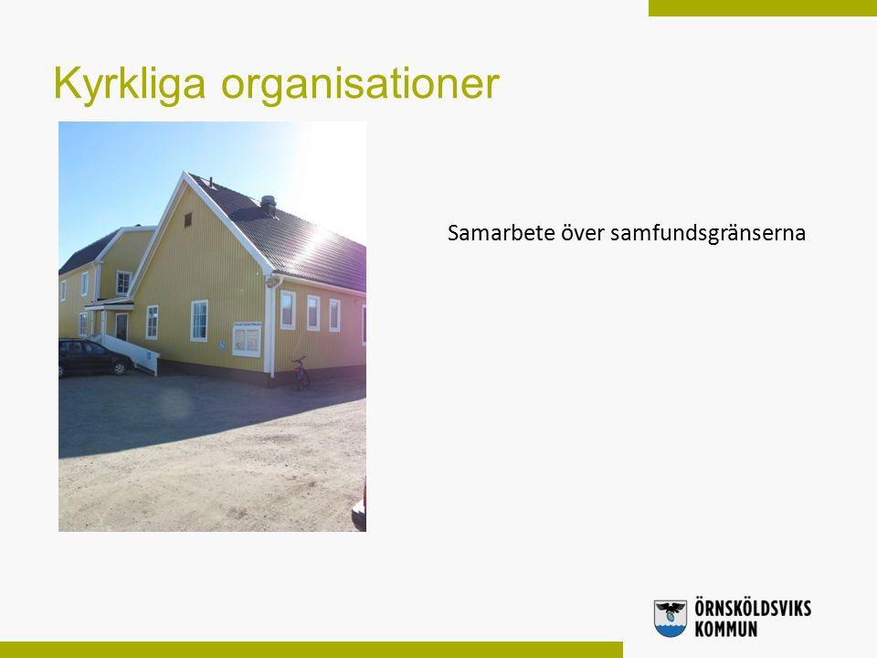 Kyrkliga organisationer Samarbete över samfundsgränserna