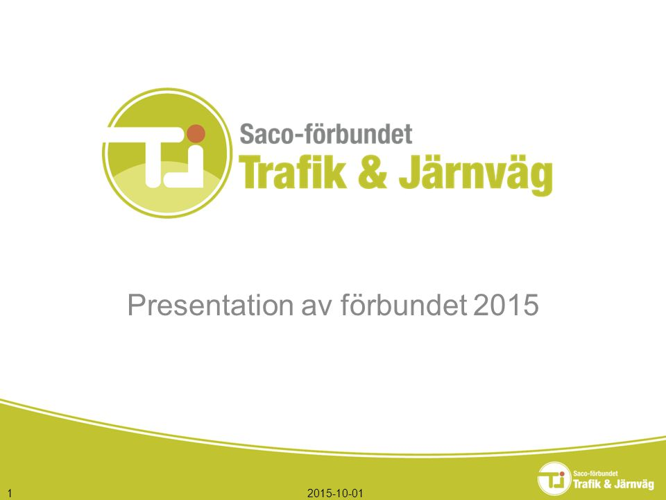 2015-10-011 Presentation av förbundet 2015