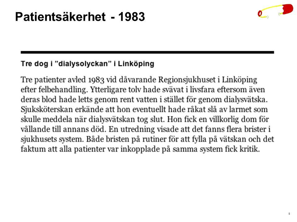 8 Patientsäkerhet - 1983