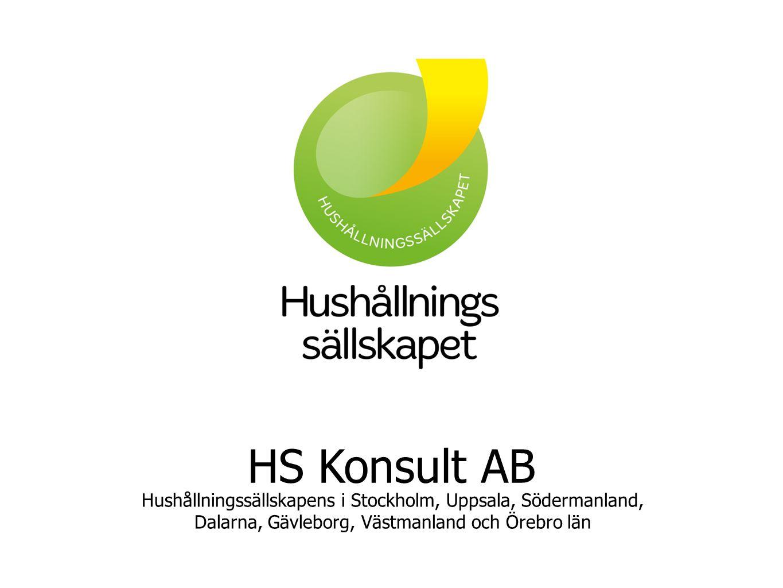 HS Konsult AB Hushållningssällskapens i Stockholm, Uppsala, Södermanland, Dalarna, Gävleborg, Västmanland och Örebro län