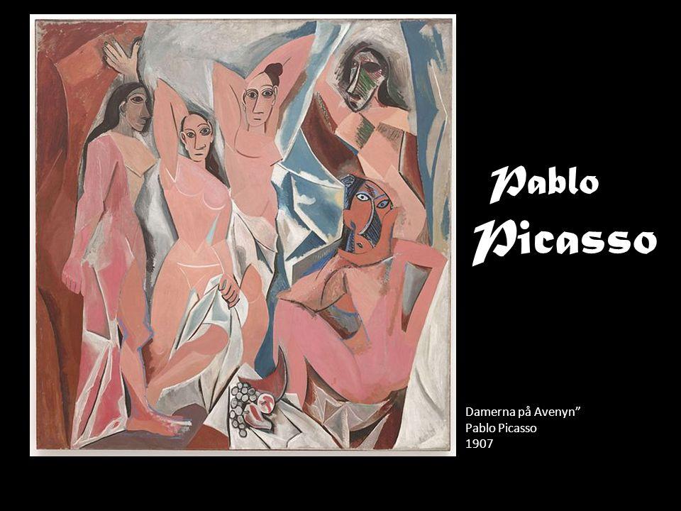 "Pablo Damerna på Avenyn"" Pablo Picasso 1907 Picasso"