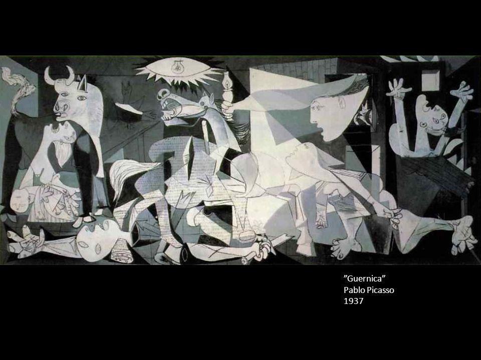 """Guernica"" Pablo Picasso 1937"