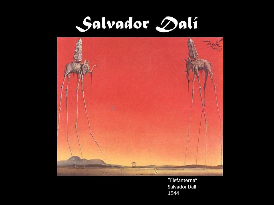 Salvador Dalí Elefanterna Salvador Dalí 1944