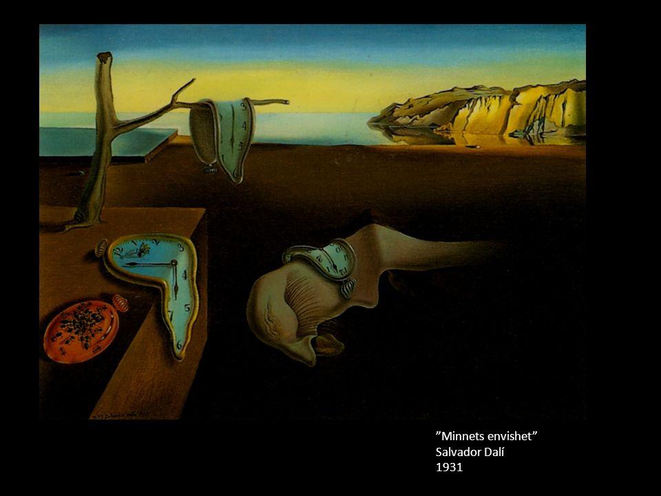 """Minnets envishet"" Salvador Dalí 1931"