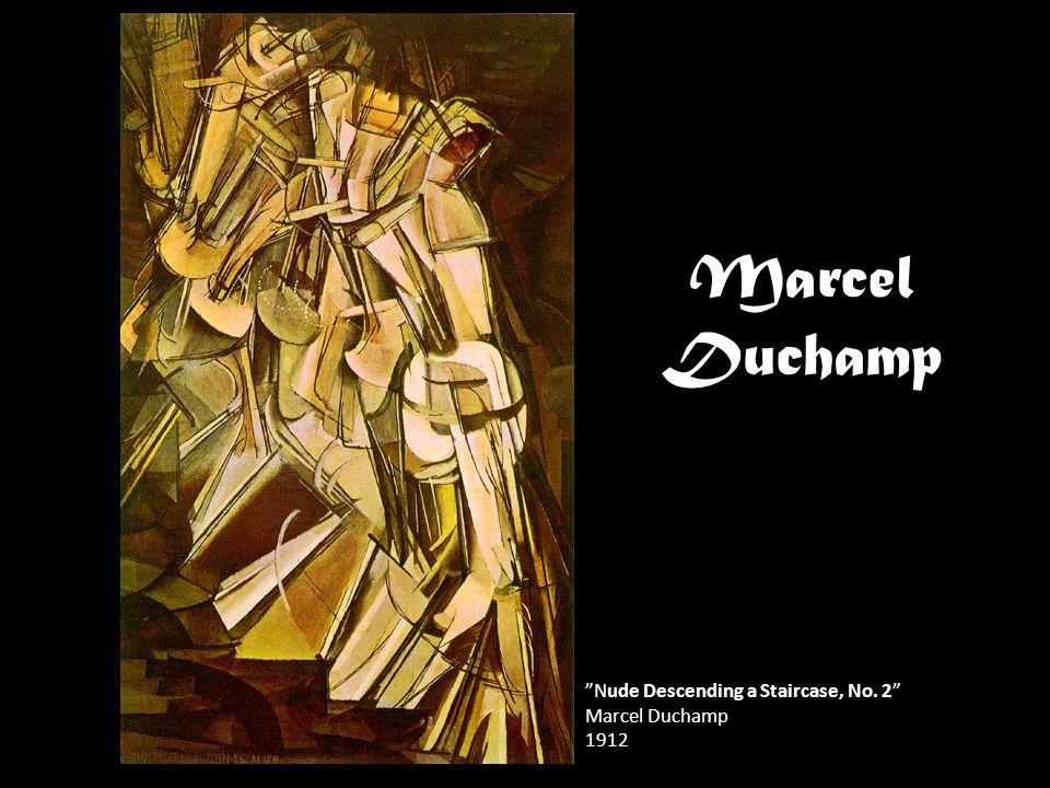 "Marcel Duchamp ""Nude Descending a Staircase, No. 2"" Marcel Duchamp 1912"