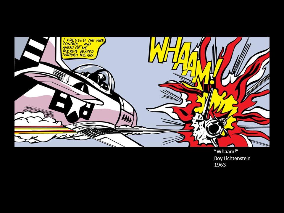 """""""Whaam!"""" Roy Lichtenstein 1963"""