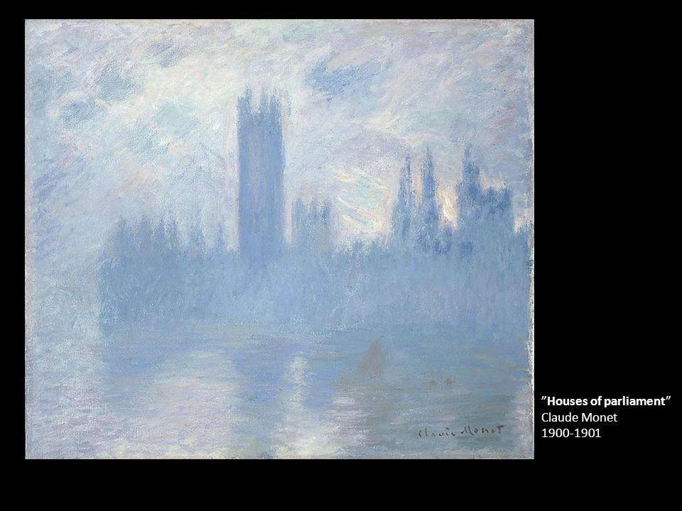"""""""Houses of parliament"""" Claude Monet 1900-1901"""