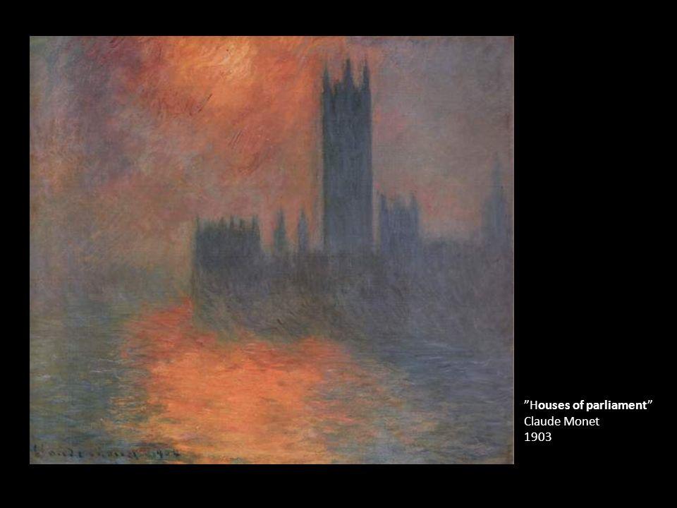 """""""Houses of parliament"""" Claude Monet 1903"""