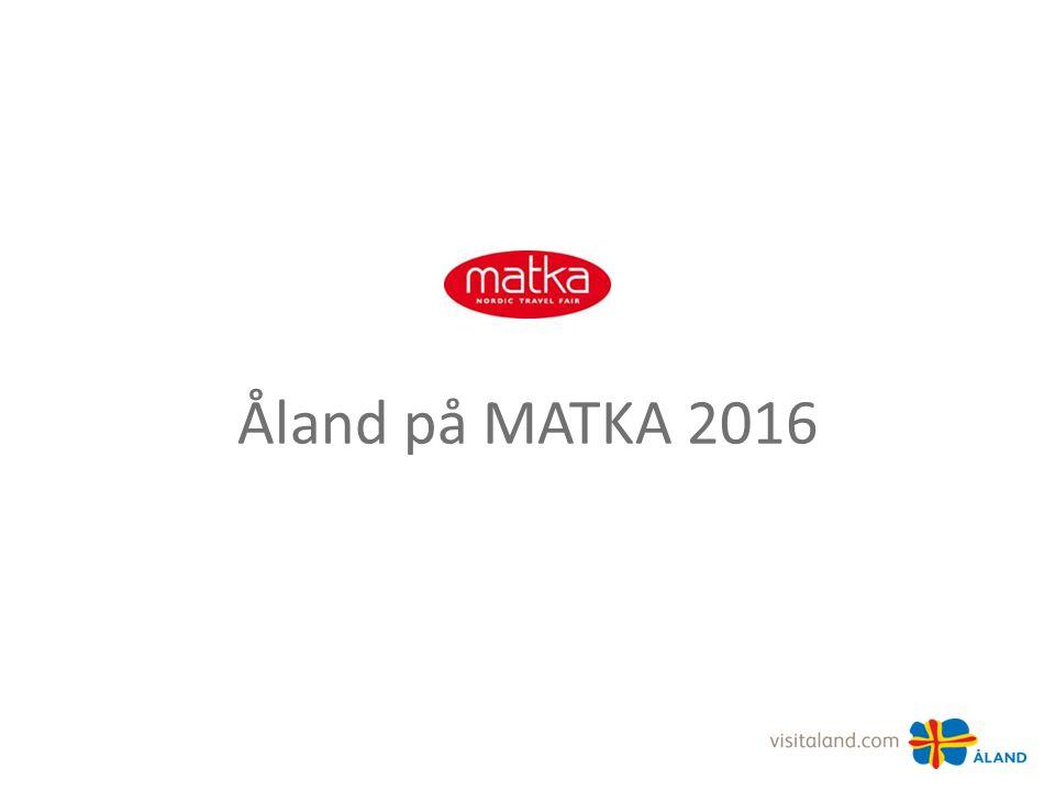 Åland på MATKA 2016