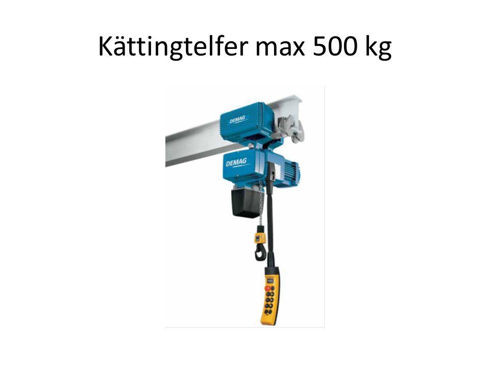 Kättingtelfer max 500 kg