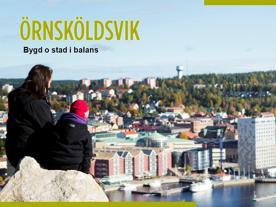 Möjligheternas Örnsköldsvik- en hållbar och tillgänglig landsbygd för företag att verka i och för människor att leva i och besöka.