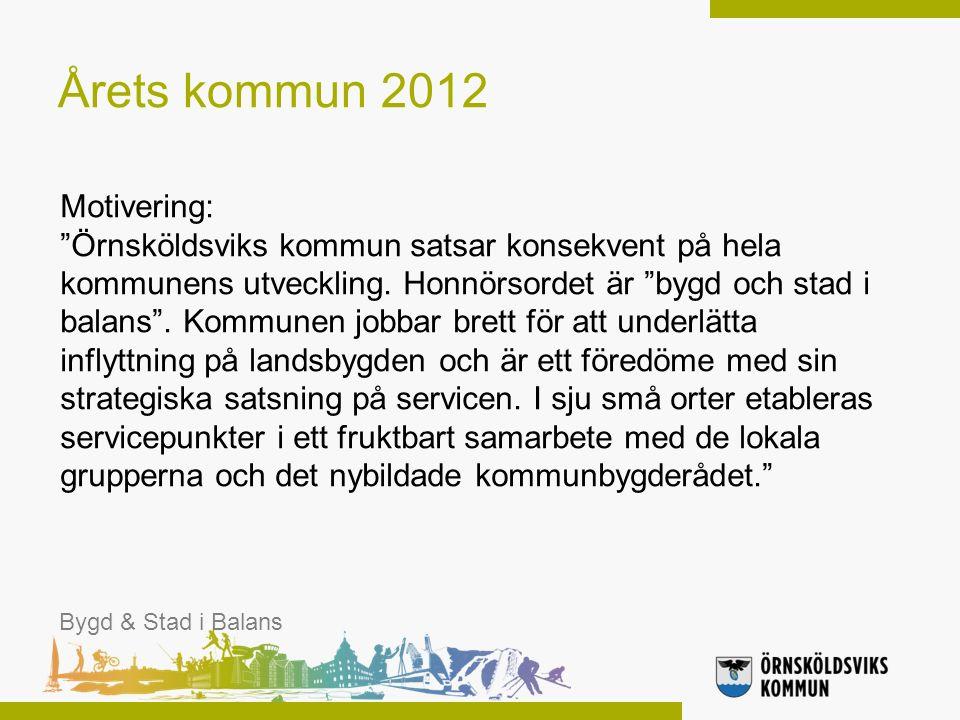Bygd & Stad i Balans 2.0 2-årigt projekt Upphandlade projektledare Medfinansiering från Länsstyrelsen Totalbudget 5,4 Mkr Bygd & Stad i Balans