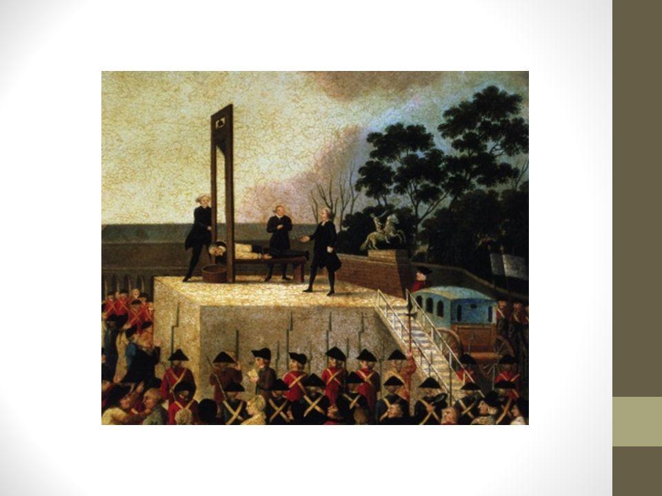 Revolutionens slut Frankrike fick en ny grundlag (igen) år 1795.