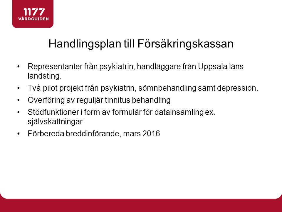 Representanter från psykiatrin, handläggare från Uppsala läns landsting.