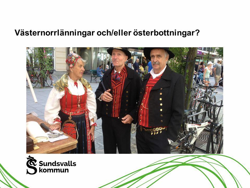 Västernorrlänningar och/eller österbottningar?