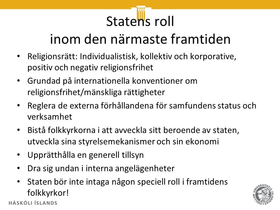 """Några hållpunkter i Ingrid Vad Nilsens föredrag """"Folket sa Nei."""