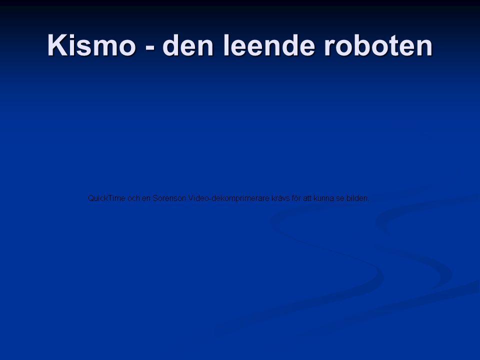 Kismo - den leende roboten